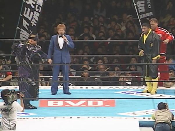 NJPW Wrestling World 2001 – Hiroyoshi Tenzan vs. Toshiaki Kawada (January 4, 2001)