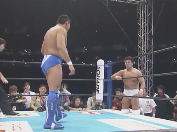 NJPW Wrestling World 2002 – Jun Akiyama vs. Yuji Nagata (January 4, 2002)