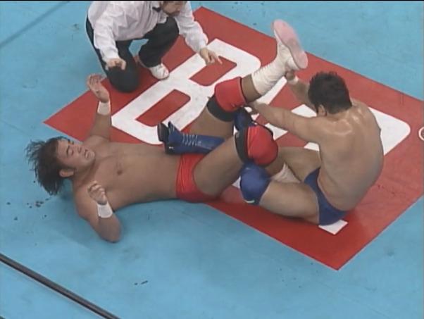 NJPW Wrestling World 1996 – Keiji Mutoh vs. Nobuhiko Takada (January 4, 1996)