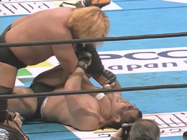 NJPW Wrestling World 2003 – Yoshihiro Takayama vs. Tsuyoshi Kohsaka