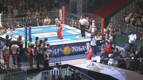 NJPW Toukon Festival 2005 – Heat vs. Tiger Mask IV
