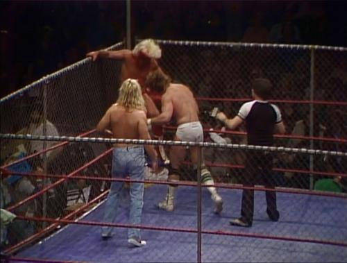 Beginnings of a World Class Feud (December 25, 1982)
