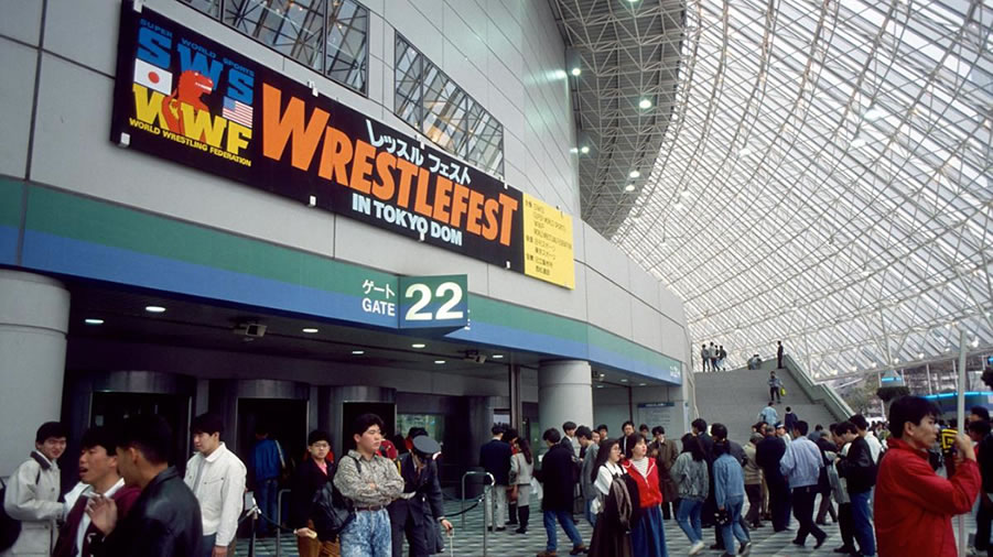 The Wrestling Roadshow: SWS/WWF Wrestlefest in Tokyo Dome 1991